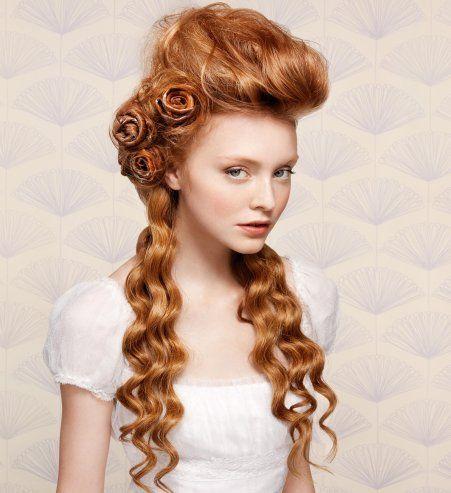 Hair Hairstyle Ideas Accessorise Roses Peinados Antiguos Peinados Bellos Peinados 2016