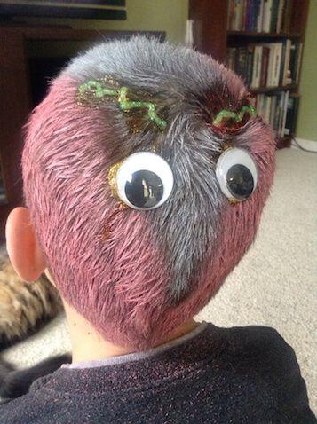 15 Ideas De Peinados De Halloween Para Nin S Beauty Funny Hair