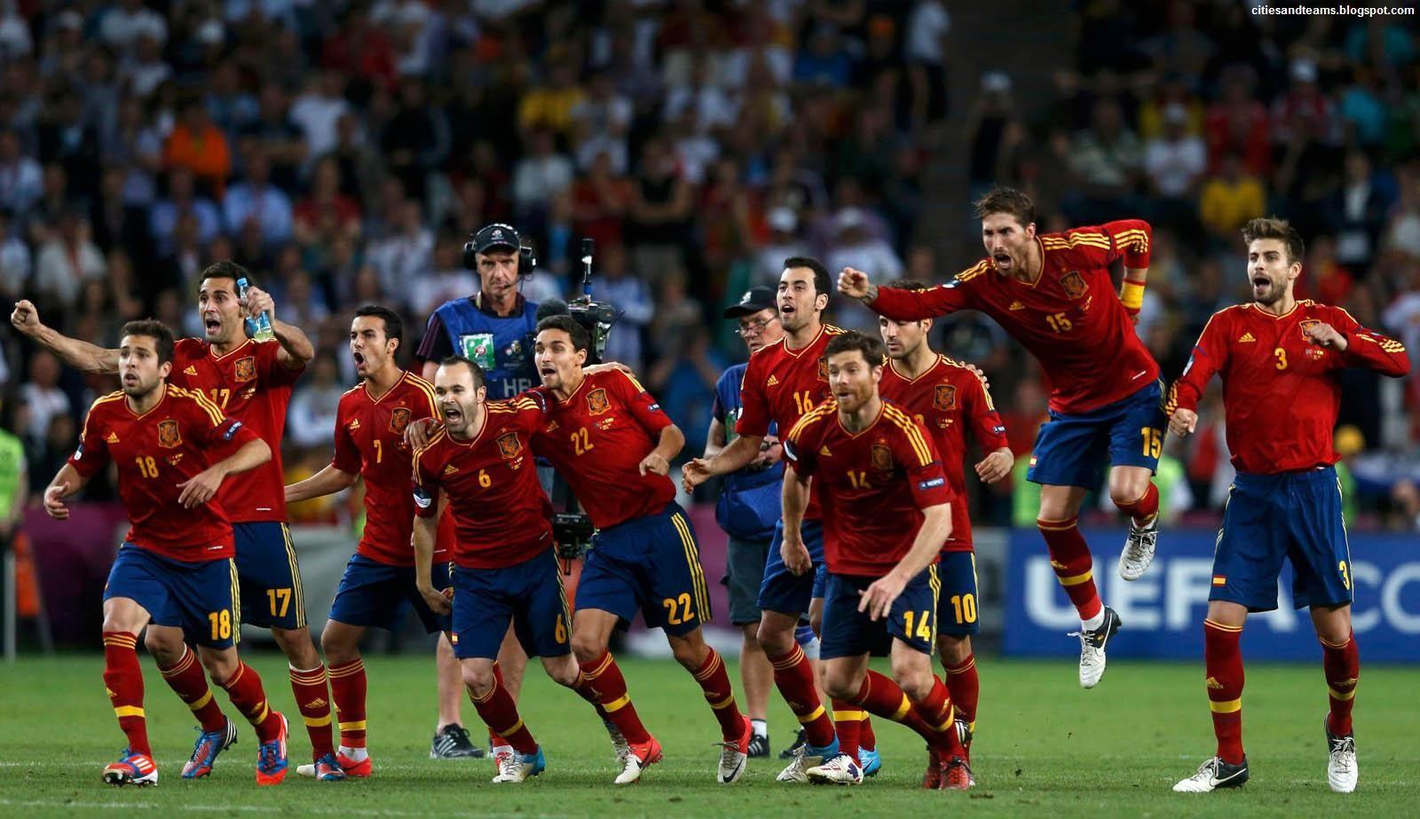 Сборная испании футболу 2010 обои