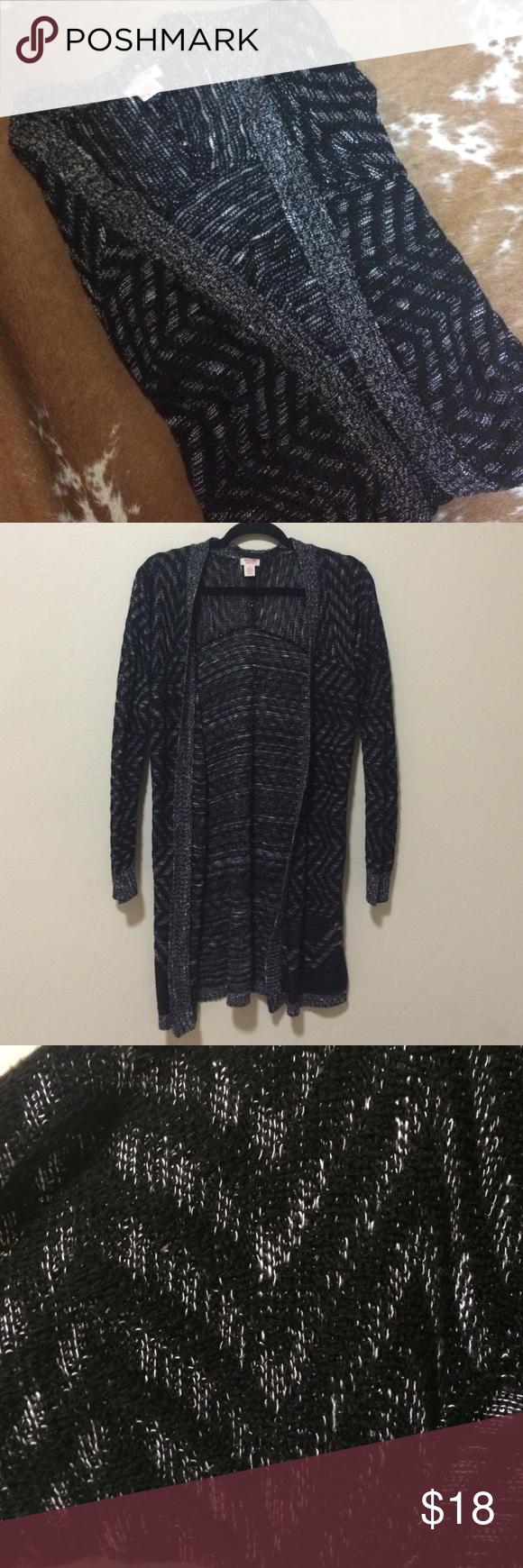 🔮Black Sweater Cardigan🔮 Super soft black long cardi from Target ...