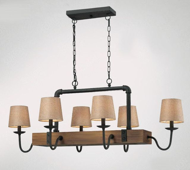 Browse Project Lighting And Modern Fixtures For Home Use York Antique Wood Iron Chandelier 9161