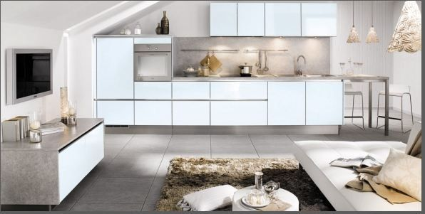 Cucine Open Space, idee Cucine | Acconciature | Pinterest