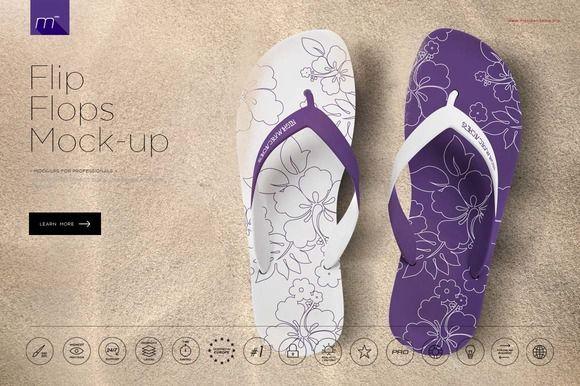Flip Flops Mock Up Flop Flip Flops Flip Flop Shoes