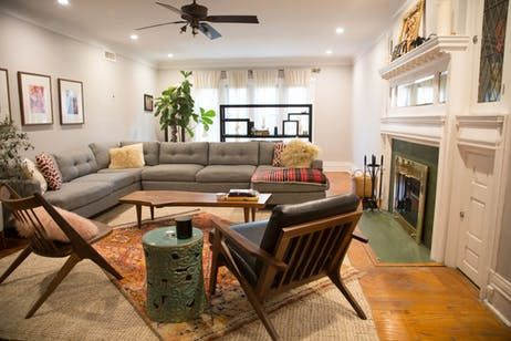 cozy furniture brooklyn. Christine\u0027s Brooklyn Abode Is An Eclectic Mix Of Cozy Furniture Classics, Global Accessories And The