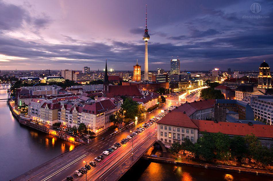 Berlim depois da chuva por Dietrich Bojko