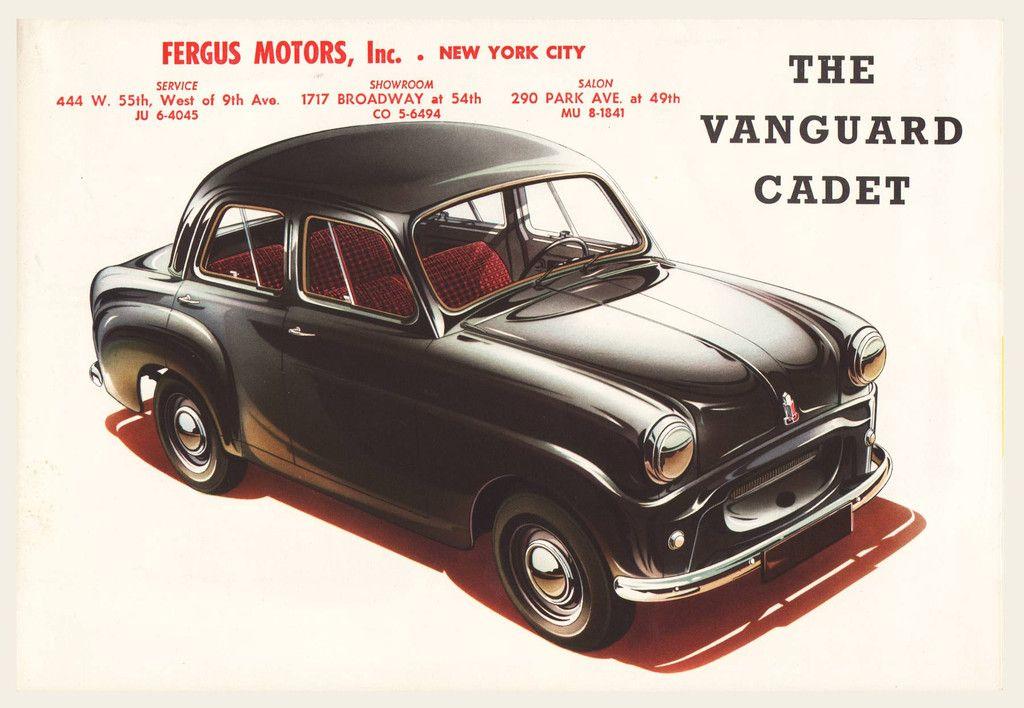 1954 Vanguard Cadet Sales Brochure | Brochures