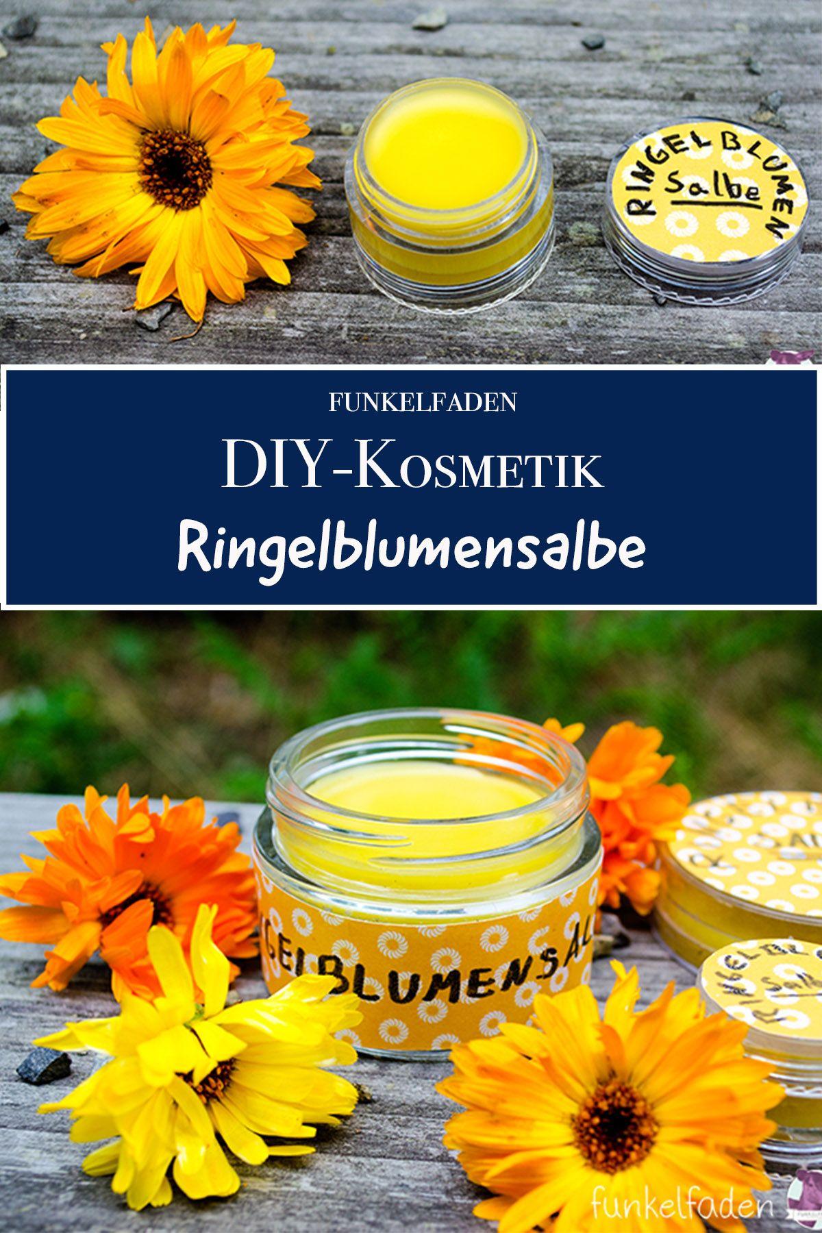 Anleitung - Ringelblumensalbe einfach Selbermachen - DIY-Naturkosmetik