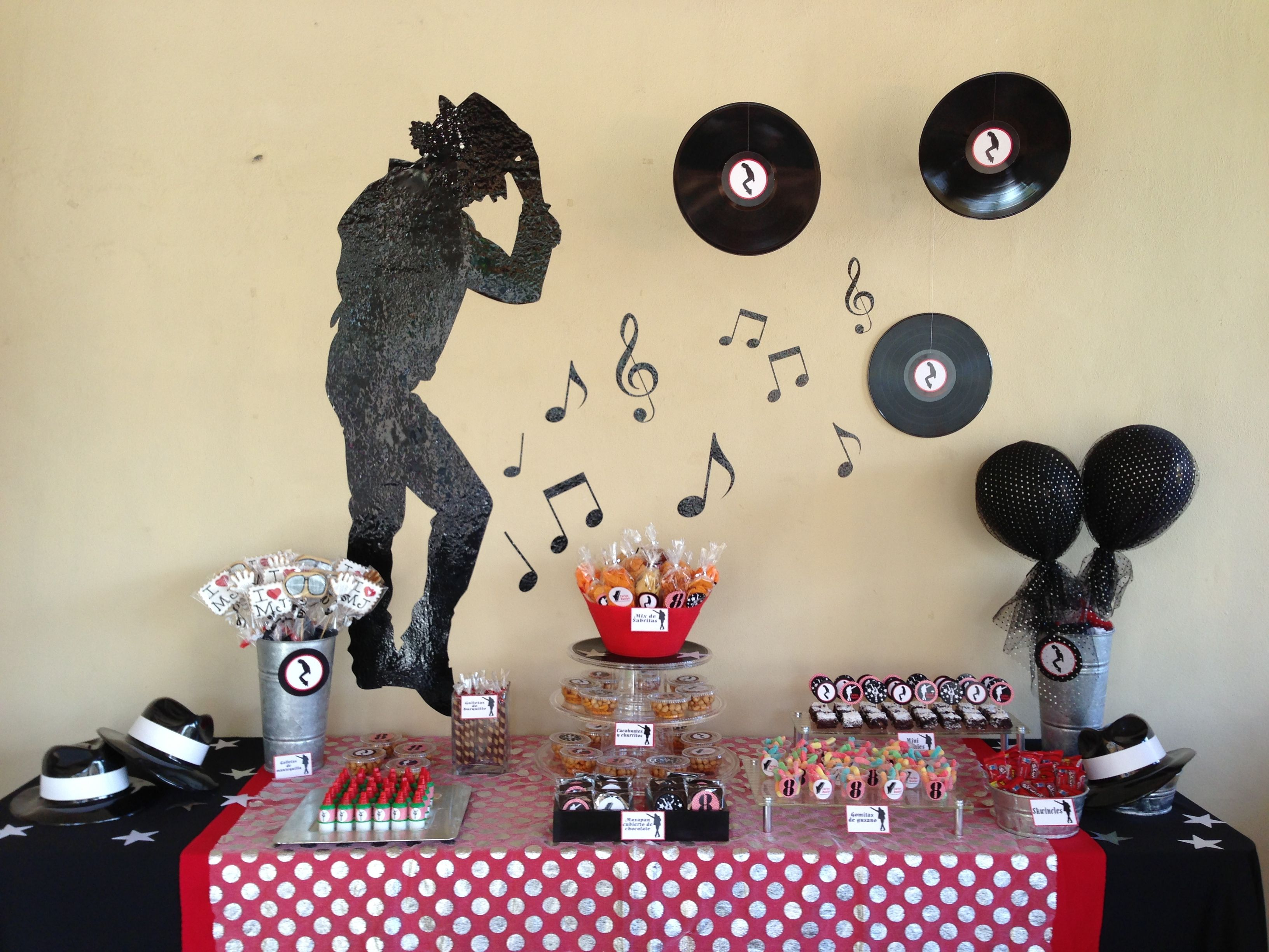 20b68d7dcf52 Ideas for sons 16th birthday bash Michael Jackson Cake