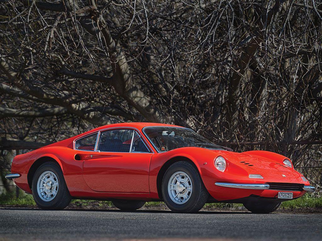 1968 Dino 206 GT | V6, 1,987 cm³ | 158 BHP | Design: Aldo Brovarone, Pininfarina | Built by Scaglietti