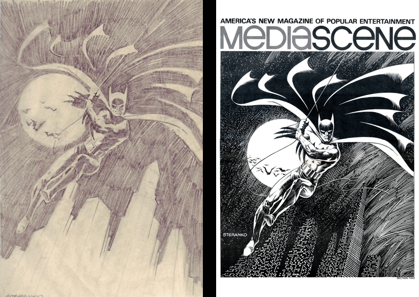 Steranko: Comps to Finished 2