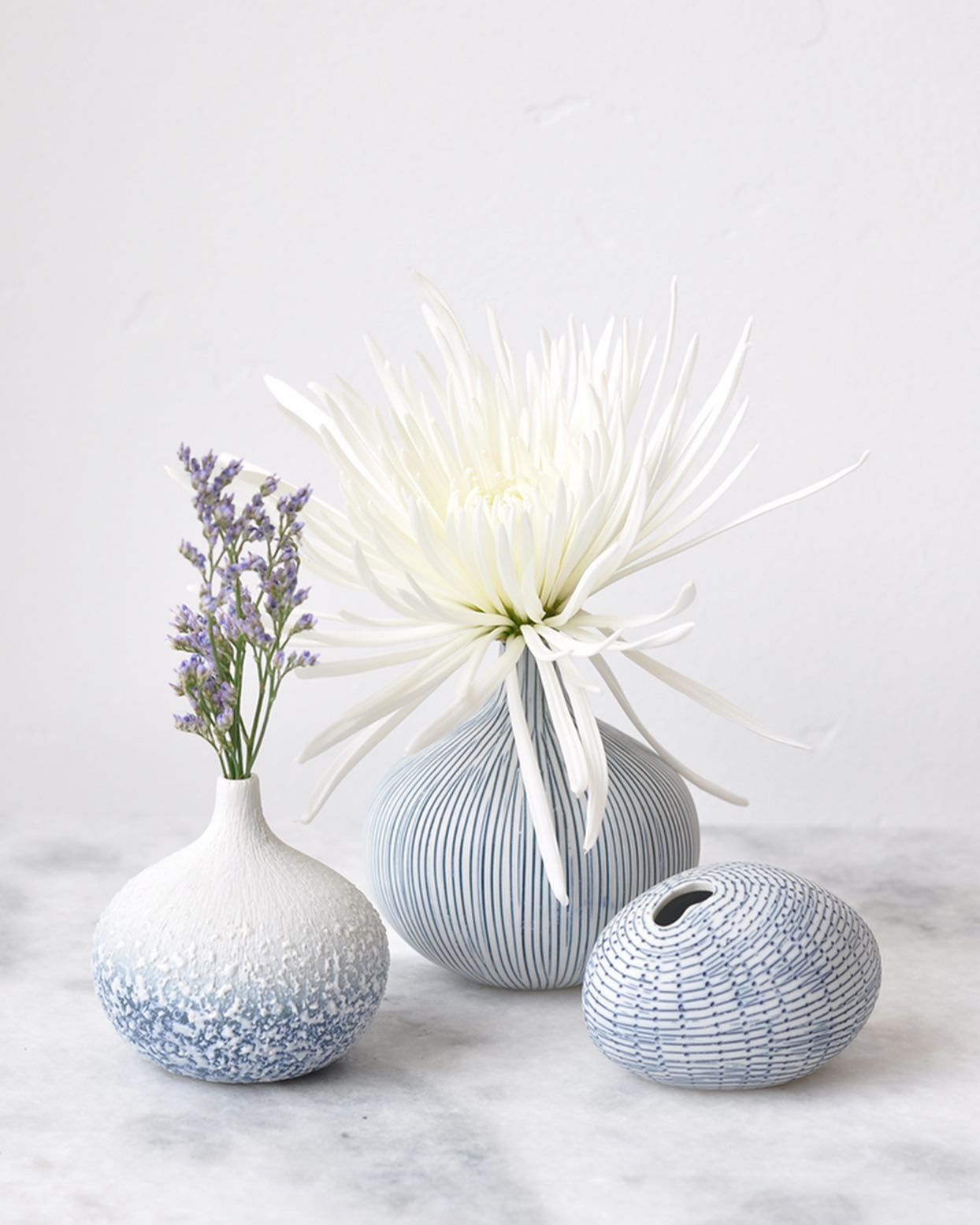 NEW (small) selection of these popular bud vases are now