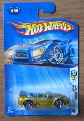 hot wheels 2004 first editions mitsubishi eclipse 90/100 gold 090 1