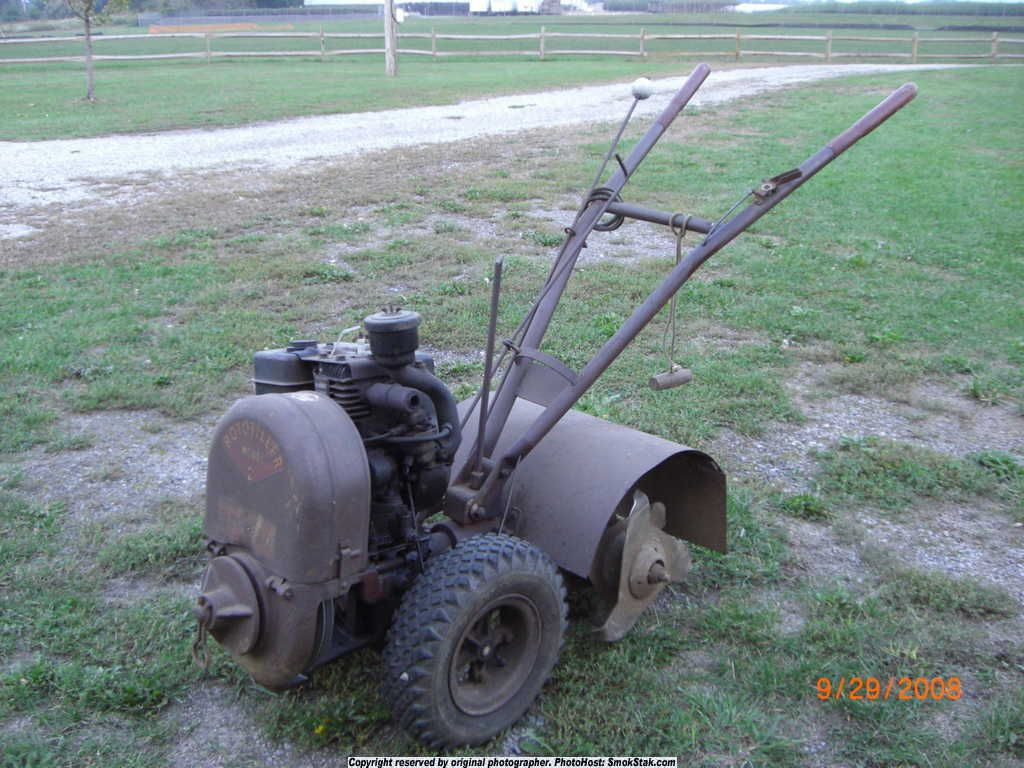 Vintage 1955 Rototiller Model 2 With Images Old Tractors