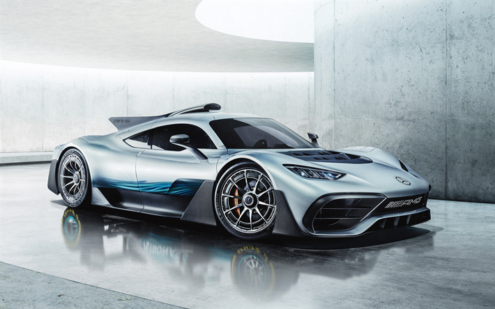 Download Wallpapers Mercedes Amg Project One 2018 R50 Hypercar