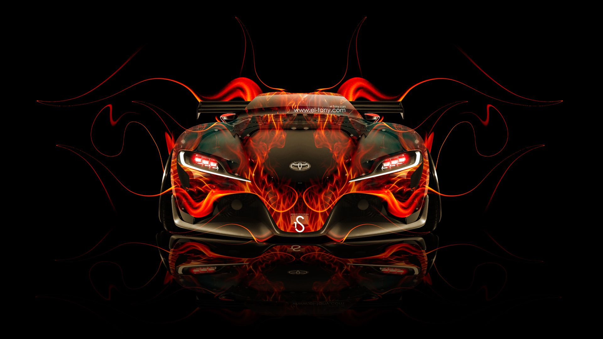 Toyota FT 1 Tuning Front Fire Car 2014 « El Tony