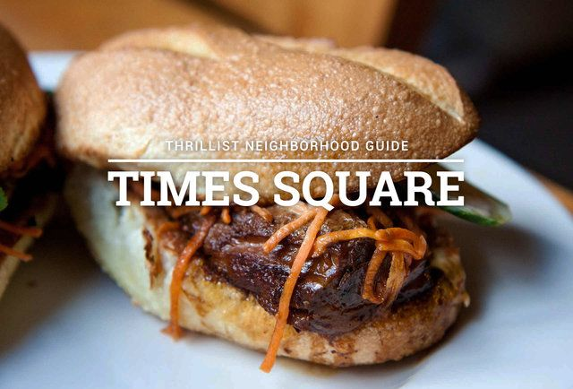 10 Restaurants Near Times Square That Don T