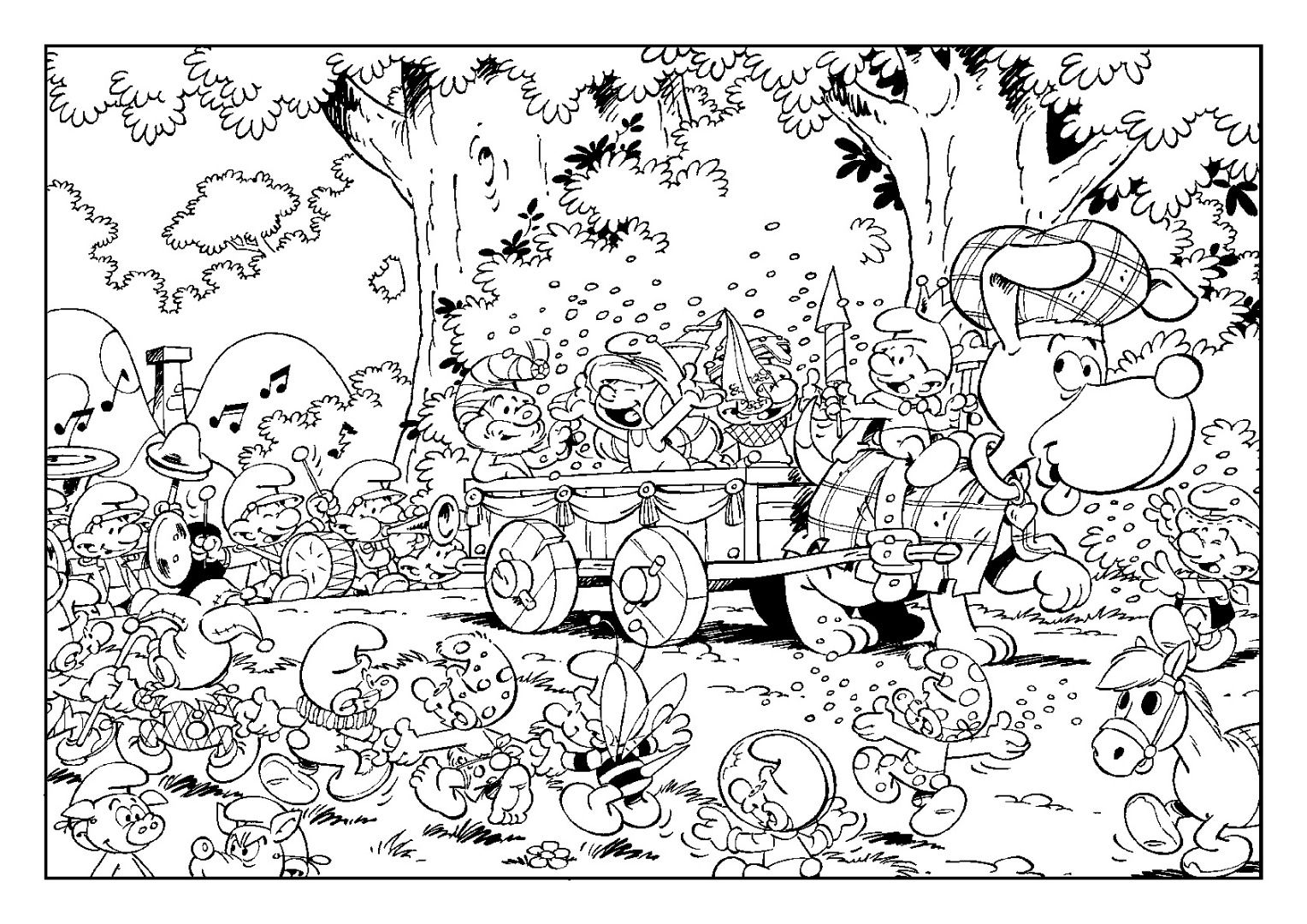Smurf Coloring Pages Clumsy Smurf Coloring Pages Papa Smurf Coloring Pages Smurf Color Free Halloween Coloring Pages Halloween Coloring Pages Coloring Pages