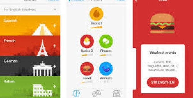 3 apps to learn a foreign language Language learning