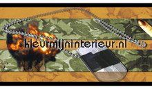 Army rand behang 109 Camouflage - Leger Dutch Wallcoverings