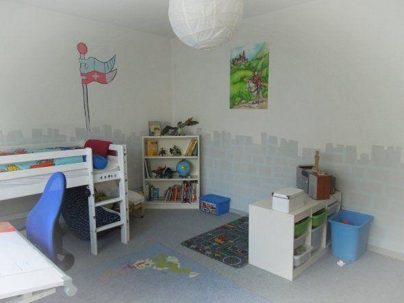 Kinderzimmermöbel selber bauen  Kinderzimmer 'Das Ritterzimmer' | ritterzimmer | Pinterest ...