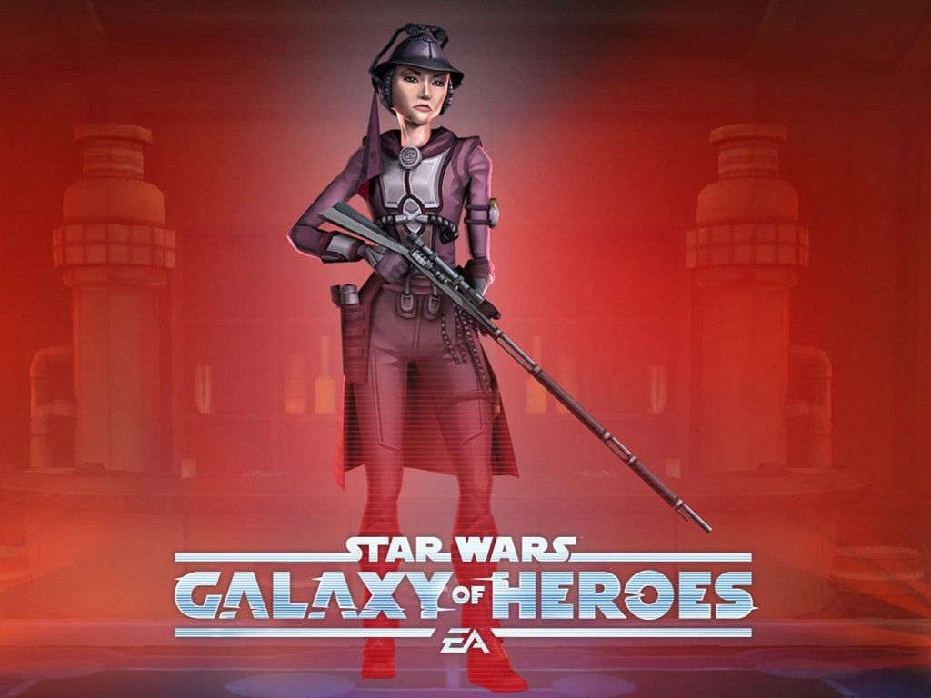 Star Wars Wallpaper Galaxy Of Heroes Zam Wessel Star Wars Bounty Hunter Star Wars Galaxies Star Wars Wallpaper