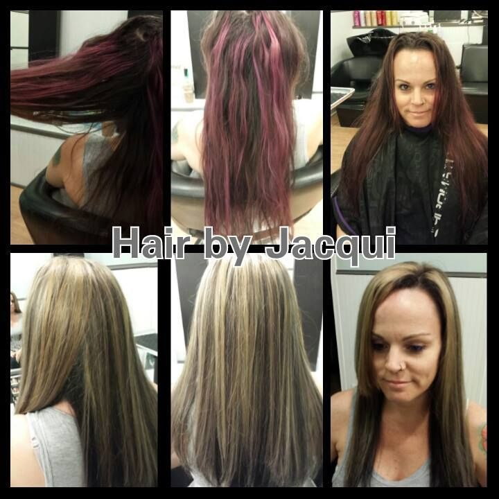 Total Hair Transformation Color Correction Haircut By Jacqui