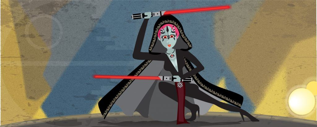 Self-portrait as a Sith - Full Version - Illustration