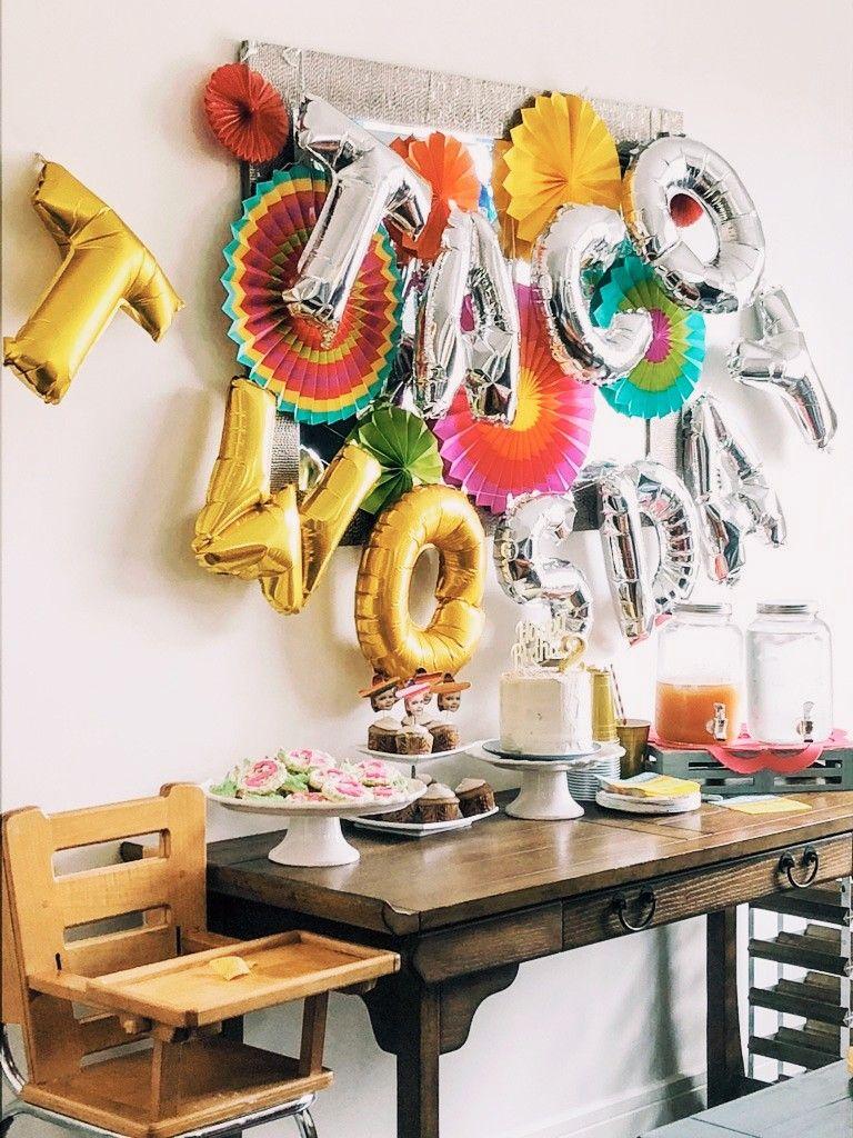 Taco Twosday Fiesta Party Austen's Second Birthday