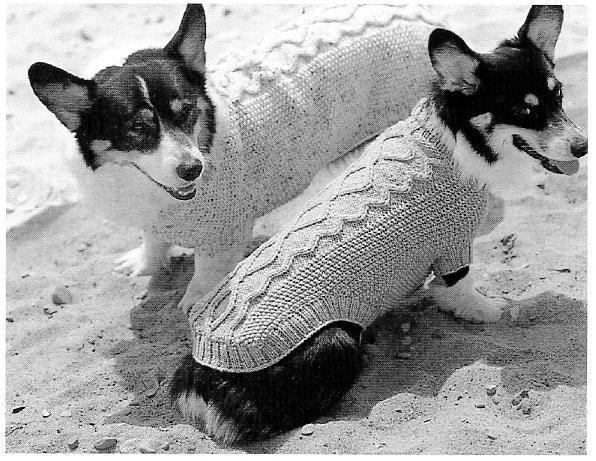 Classic Aran Dog Sweater Knitting Strik Og Sy Til Hund Pinterest