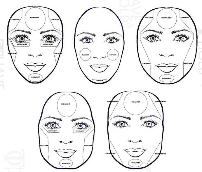 Makeup Contouring And Highlighting S - Mugeek Vidalondon