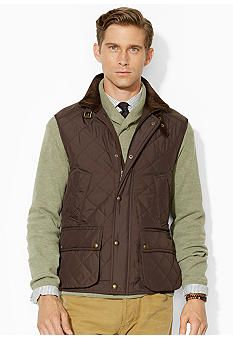 3219001aacb Polo Ralph Lauren Epson Quilted Vest Lauren Brown, Man Quilt, Quilted Vest,  Vest