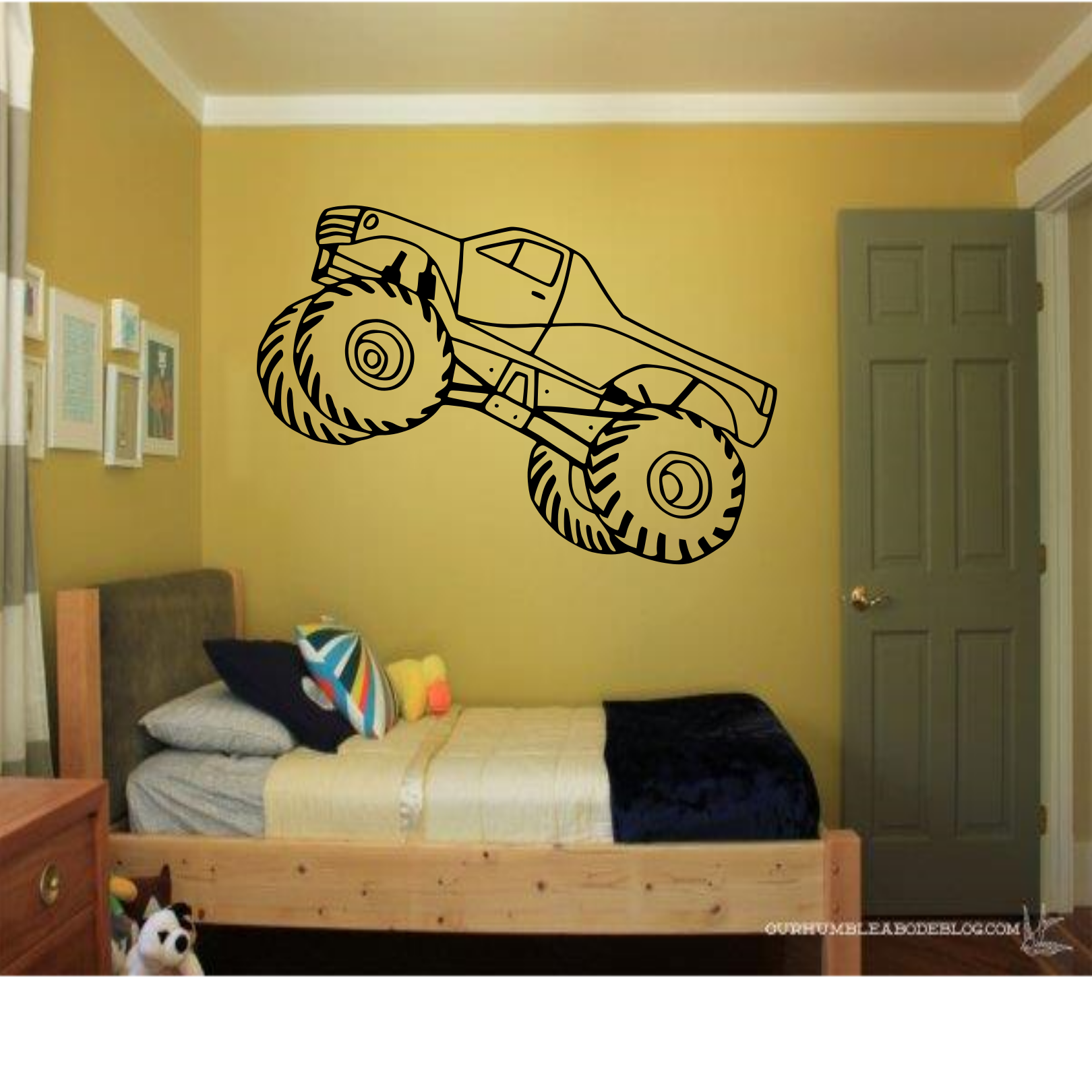 Over 210 Designs Available At Httpswwwetsycomlisting197434733Monster Truck Wall Decal