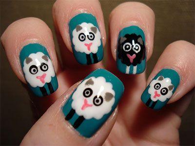 Lovely animal nail art ideas for girls who love cute nail art lovely animal nail art ideas for girls who love cute prinsesfo Choice Image