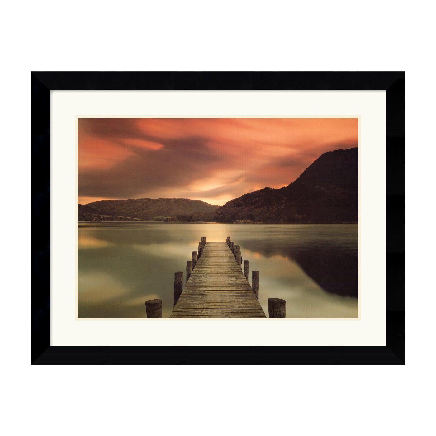 Mel Allen Ullswater Glenridding Cumbria I Got This Print At Ikea Years Ago Beautiful Framed Art Prints Framed Art Lake District