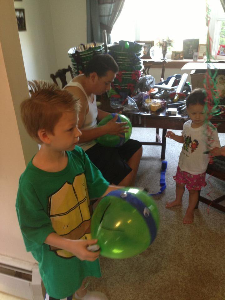 BEST Teenage Mutant Ninja turtle party