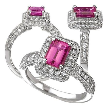 Image Detail For Pink Sapphire Jewelry For All Pink