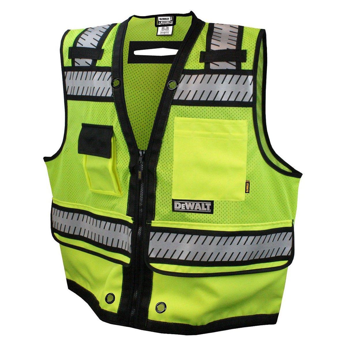 Dewalt Class 2 Heavy Duty Surveyor Vest
