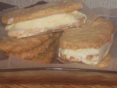 Sandwiches de Coco y Nieve