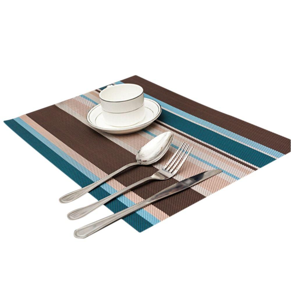 1pcs 30cm 45cm Pvc Placemat Dining Table Mats Set Kids Table Bowl Pad Dining Table Tray Mat Coasters Table Mat Placemat Placemats Dining Table Settings