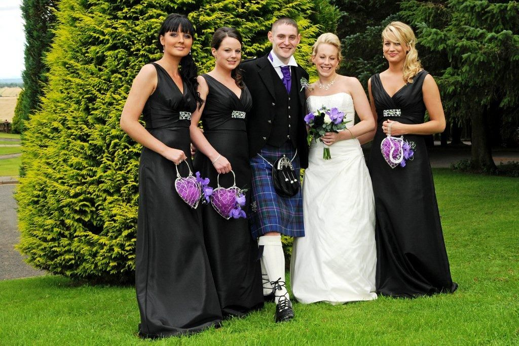 Another of our Wedding Party,s  wedding at Beecraigs