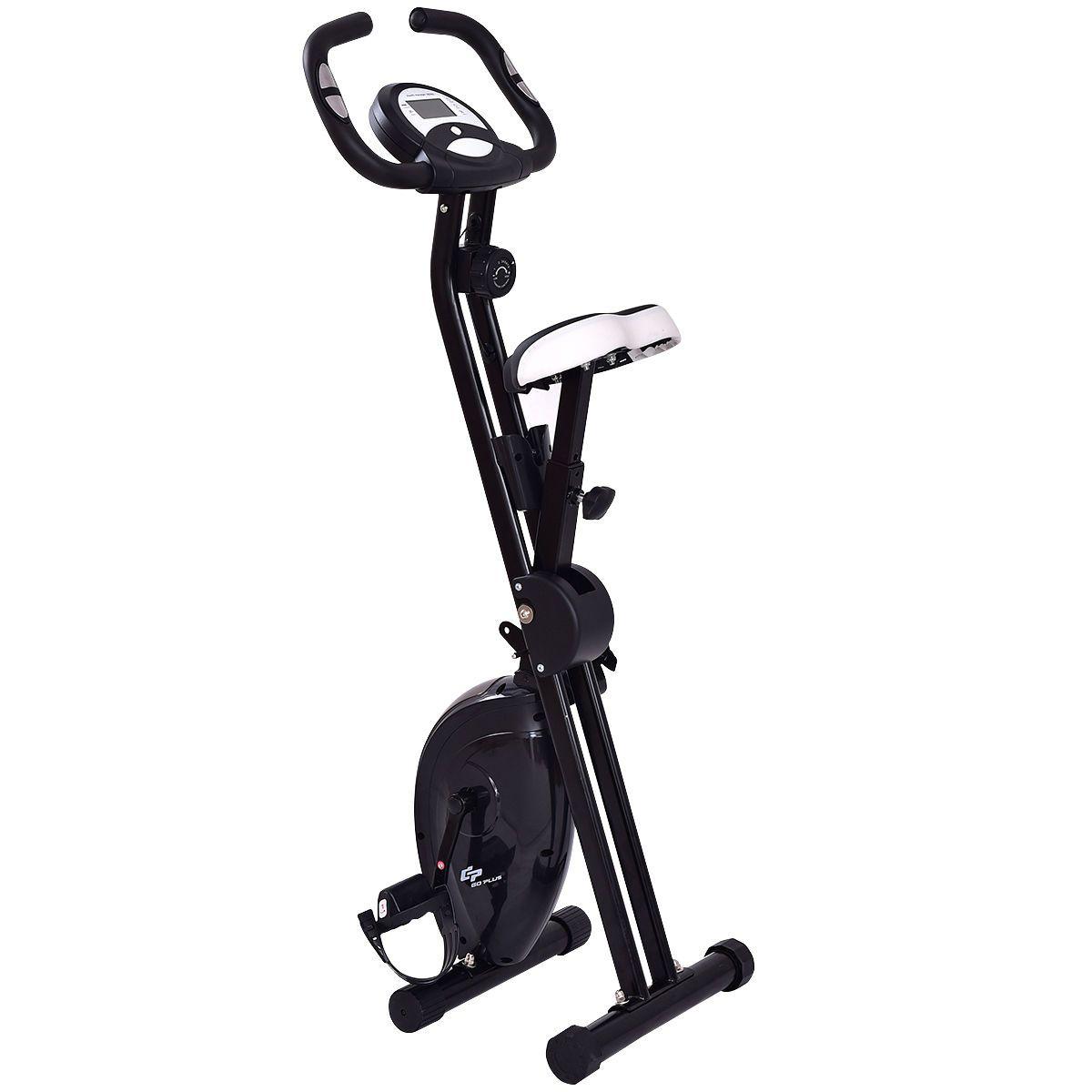 45 Height Resistance Adjustable Folding Magnetic Exercise Bike