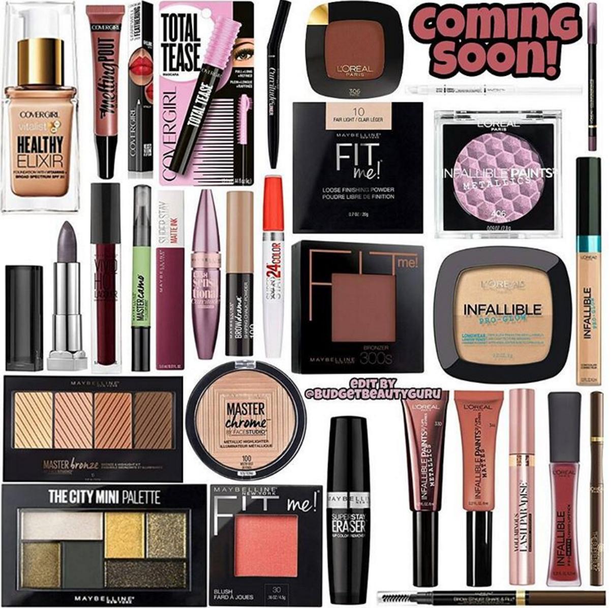 New Drugstore Makeup For Summer 2017 Drugstore Makeup Best Drugstore Makeup Beauty Products Drugstore