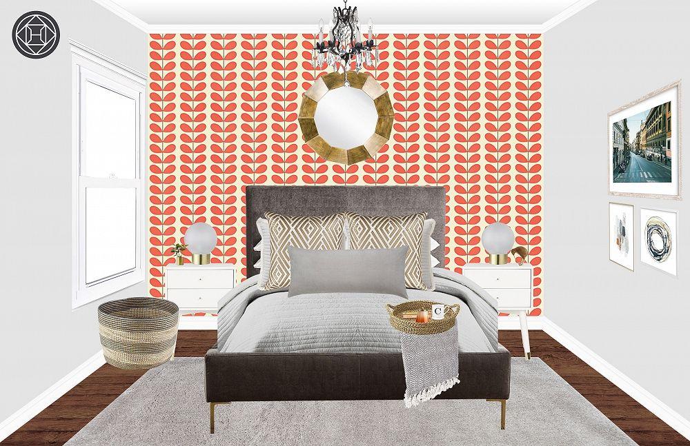Best Bohemian Glam Midcentury Modern Bedroom Design By 400 x 300