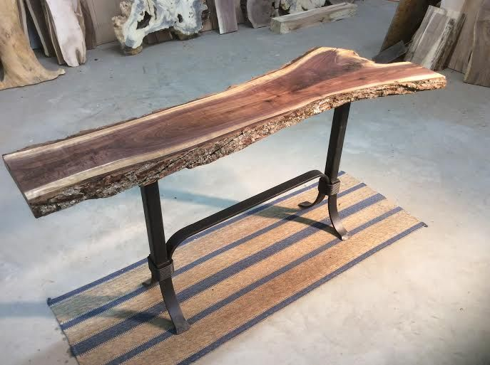 Ohiowoodlands Console Table Base Steel Sofa Table Legs Console