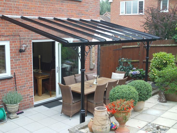 Image result for garden awning perspex | Patio, Pergola ...