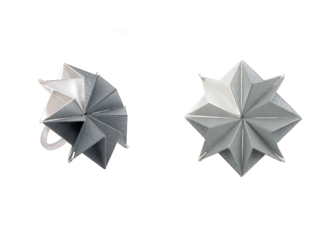 Folded Ring - Jennaca Leigh Davies.