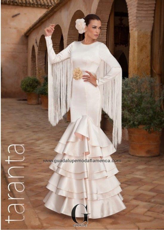 Vestidos para ir de boda flamencos
