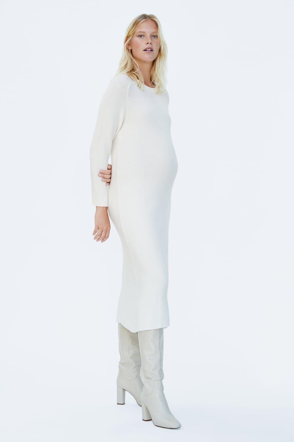 9683655d LONG KNIT DRESS-MOM-WOMAN-CORNER SHOPS | ZARA United States ...