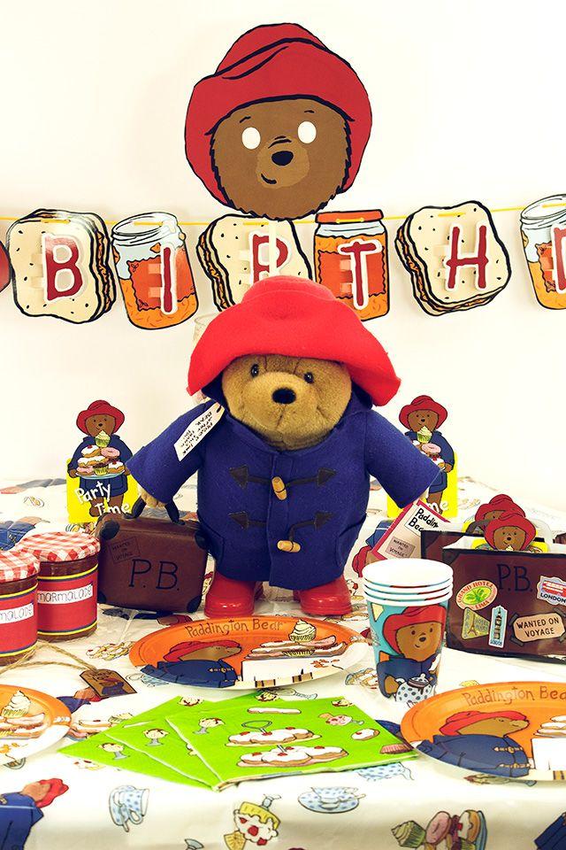 Paddington Bear Party Ideas Free Printables Celebrate