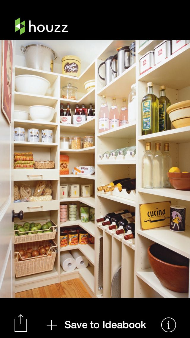 Larder | kitchen | Pinterest | Abstellraum, Küchen design und ...